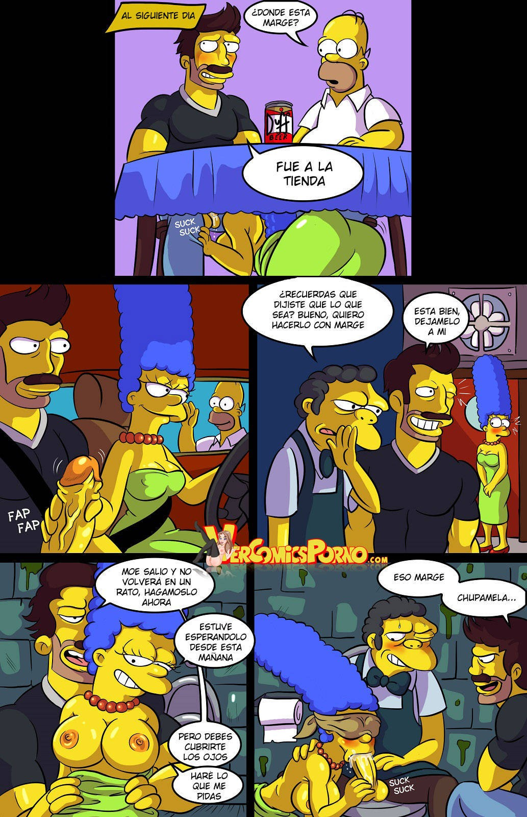 cartoon the Simpsons porn