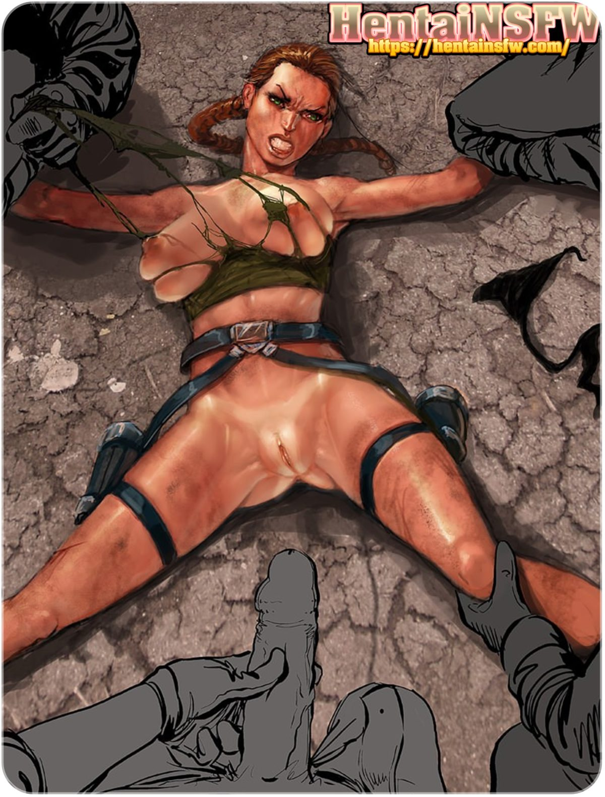 lara croft cartoon porn