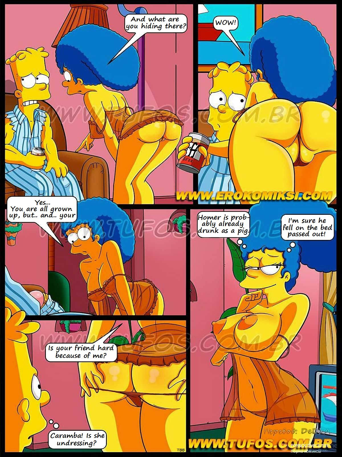simpsons cartoon porn comics